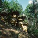 Piekło (Hell) rocks near Niekłań Reserve